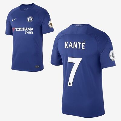buy online 730be cb467 NIKE CHELSEA FC NGolo Kante Stadium Home Jersey Small Rush Blue White  RRP£70.00