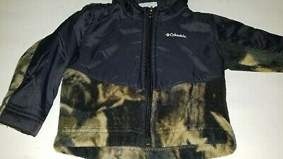4b93e36824089 Nice Super Cute Camo Columbia Baby Toddler Boys 6 To 12 Months Hoodie Jacket