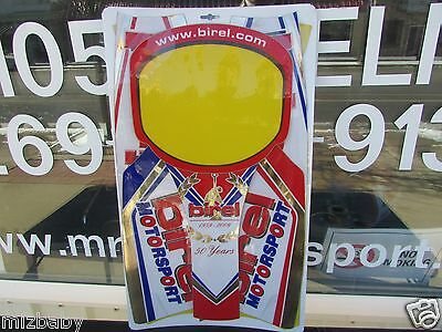 Birel 50 th anniversary Sticker kit  One of a kind 2009 karts and other models