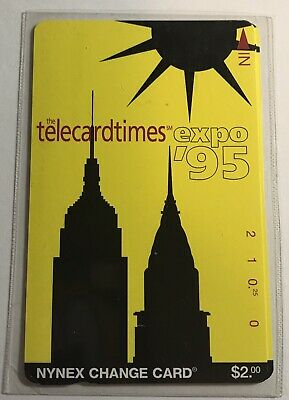 1995 NYNEX TelecardTimes Expo Phone Card