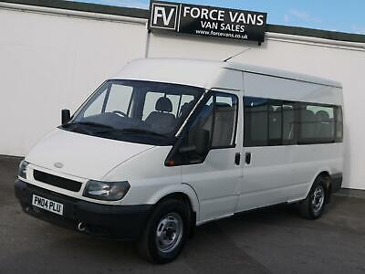 Ford Transit 350 Lwb Semi Med High 15 Seater 15S Minibus Crew Camper Day Van Bus