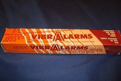 Vintage Aeco Vibralarms # Ae622 Curb Feelers Nos In Box