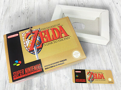 Boite SNES / Box : Zelda - A Link to the Past [FRA]
