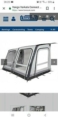 vango varkala 360 air connect awning with connect sleeping pod and carpet