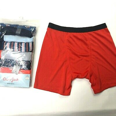 waist 26-28 New Cat /& Jack Boxer Briefs 2 Pack Size Boys Lg 12//14