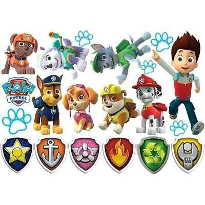 Paw Patrol Room Decor Wall Decal Removable Sticker