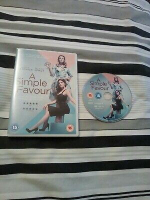 A simple favour dvd Anna Kendrick Blake lively region 2 2018 new release