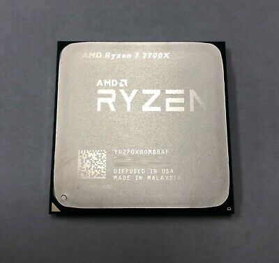 AMD Ryzen 2nd Gen 7 2700X - 4.3 GHz Eight Core (YD270XBGM88AF) Processor OEM VER