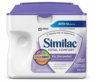 Similac Total Comfort Infant Formula with Iron, Powder, 1.41 Pounds