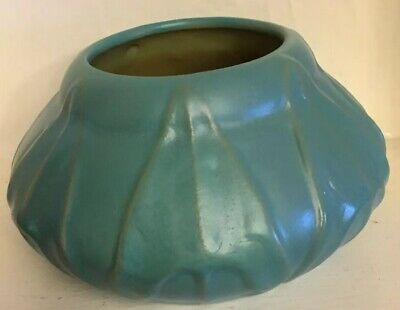 Van Briggle Pottery Early Low Bowl Dated 1906