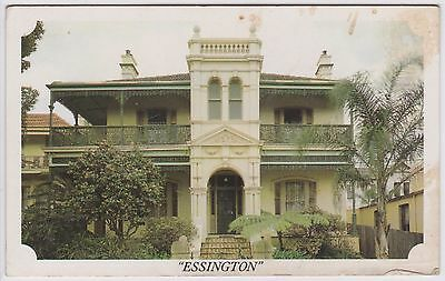 Vintage Postcard - Essington, Stanmore (Tracey's Antiques) Victorian Italianate