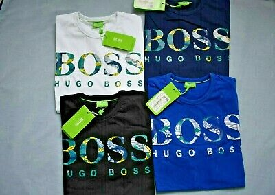Hugo Boss Short Sleeve Crew Neck T-shirts For Mens - S M L XL XXL Pure Cotton