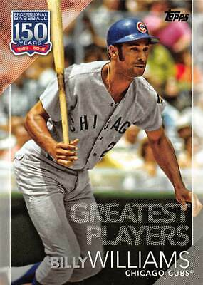 2019 Topps 150 Years Of Baseball Greatest Players #GP30 Billy Williams > Cubs