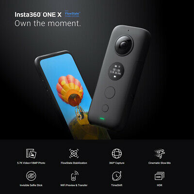 Insta360 ONE X 5.7K 18MP HDR Panoramic Camcorder Sport Action Camera for Xiao Mi