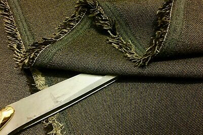 *NEW*Top Quality Wool Blend Suiting Olive-Brown Classic Design Fabric