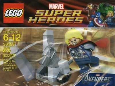 LEGO Super Heroes / Marvel #30163 - Thor and the Cosmic Cube - NEW - Sealed