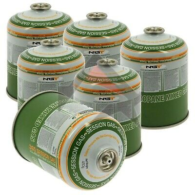 6PK RESEALABLE GAS CARTRIDGE CAMPING OUTDOOR BEACH HIKING SCREW THREAD CANISTERS