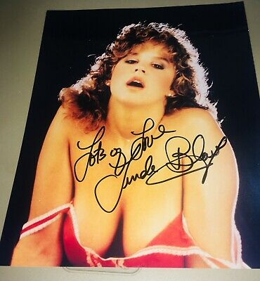 Very Rare Sexy Linda Blair Hand Signed Autographed 8x10 Photo The Exorcist