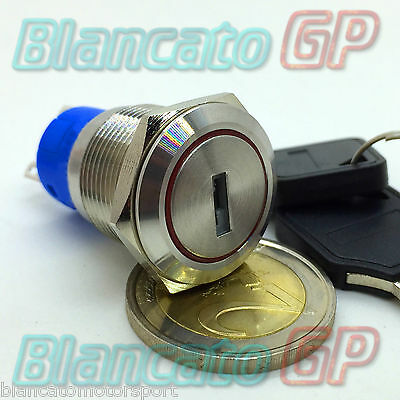 Switch Diverter Key to 19mm in Metal Stainless Steel Switch Anti-theft