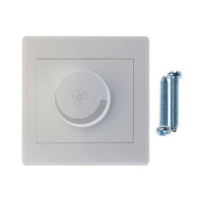220V 200W Adjustment Ceiling Fan Speed Control Switch Wall Button Dimmer Switch