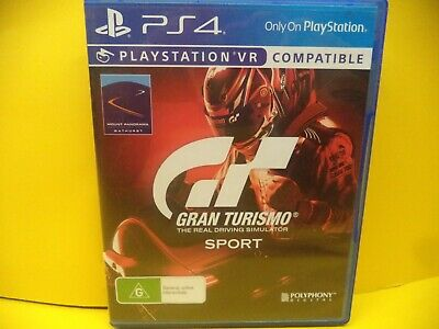 Gran Turismo Sport Sony Ps4 Game
