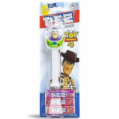 Pez    Disney Pixar BUZZ LIGHTYEAR on TOY STORY 4 card