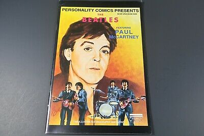The Beatles #2 Paul McCartney Rock N Roll Collectible Comic and Cards numbered