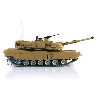 Henglong 1/16 Scale 6.0 Customize Abrams RC Tank 3918 360° Turret Barrel Recoil