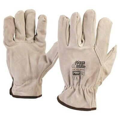 ProChoice® Cowsplit Leather Riggers Gloves XL - PACK of 5