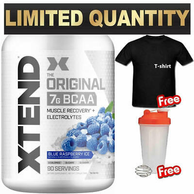 SCIVATION XTEND 90 SERVES BCAA's ELECTROLYTES BRANCHED CHAIN AMINO ACIDS SHIRT