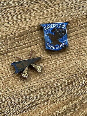 Two Ravenclaw House Magnets | Wizarding World of Harry Potter | Quidditch Theme