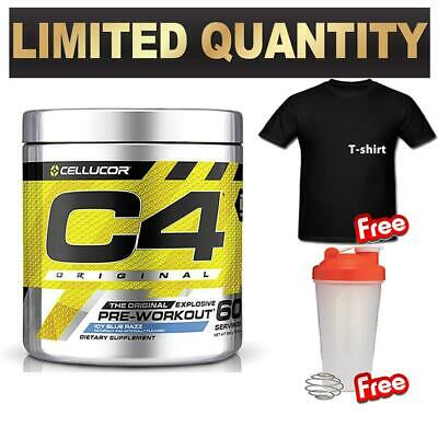 Cellucor C4 Id 60 Serves Serve Pre Workout C4 Original Energy Creatine Shirt