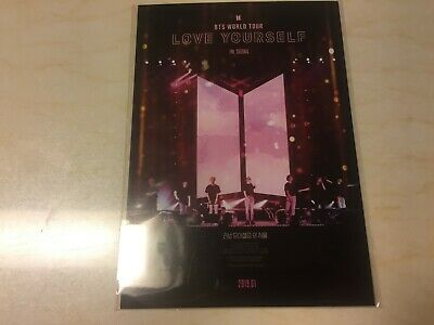 BTS Postcard [ Love Yourself in Seoul Official Limited ] NEW / QR code not used
