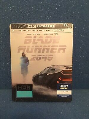 Blade Runner 2049 SteelBook (4K Ultra + Blu-ray) Best Buy Unopened