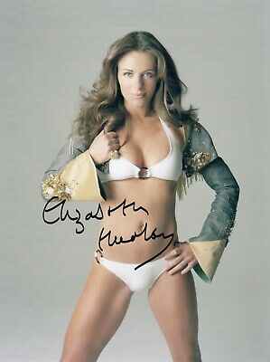 Elizabeth Hurley Signed  8x10 auto photo in Excellent Condition