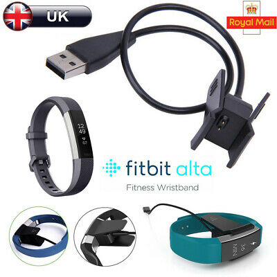 USB Charging Cable Charger Lead for Fitbit Alta Wireless Activity Wristband UK