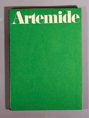 Artemide catalogue 1973 lamps and furniture