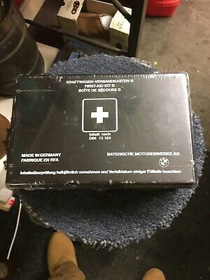 BMW First Aid Kit Din 13164 M635 CSI E30, E21  Unopened & Factory Sealed