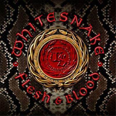 Whitesnake Flesh and Blood CD & DVD All Regions NTSC NEW