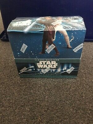 Star Wats Attack Of The Clones Box Of 36 Booster Sets. BNIB. Wizards 2002