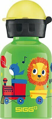 Sigg Jungle Train, Botella de Agua para niños, 0.3 L, Pr(Tren de la selva)