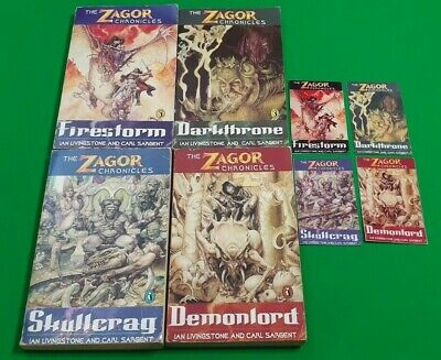 The Zagor Chronicles ***COMPLETE SET 1-4!!*** Fighting Fantasy Puffin #1