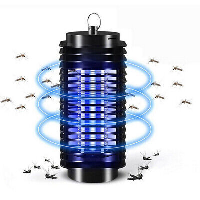 NEW 360° Rotate Electric Light Mosquito Killer Insect Fly Bug Trap Night Lamp