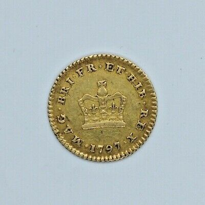 22ct Gold 1797 George III Third of a Guinea Coin