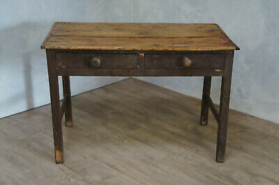 Scrub Top Farmhouse Table