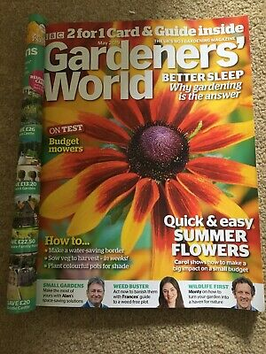 Gardeners World magazine May 2019 Does NOT include 2for1 Entry