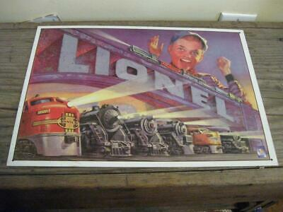 Lionel Trains Tin Sign ~ Wall Art