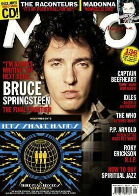 MOJO magazine August 2019 Bruce Springsteen Cover + Interview Madonna Diana Ross