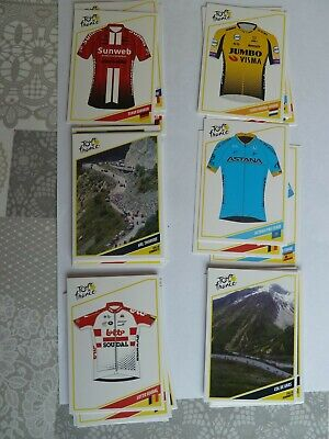 panini tour de France 2019. 15 cartes   sans double