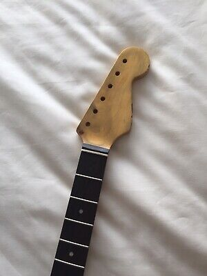 Vintage Relic Replacement neck for Strat will fit mjt ,OEM, usa bodies (Nitro)